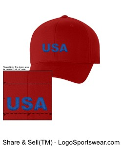 Six Panel Low Profile Twill Flex Fit Cap Design Zoom